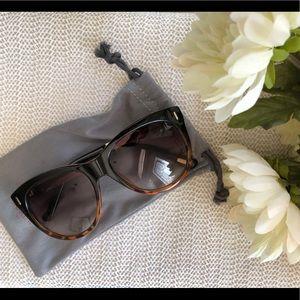 JCrew Cat Eye Tortoise Shell Brown Sunglasses